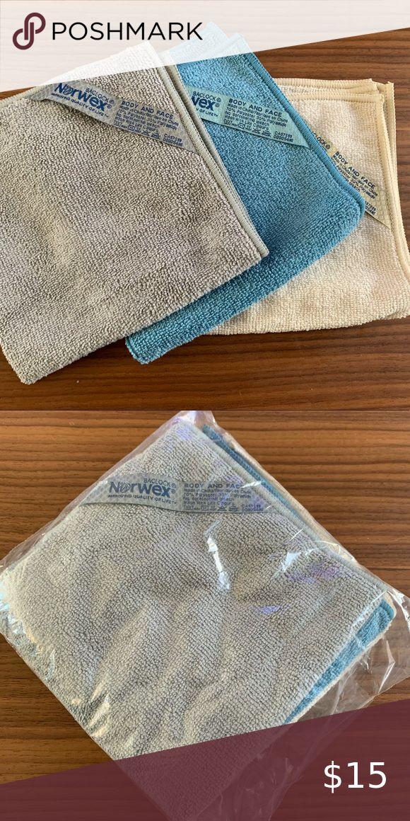 New Norwex Coastal Body Cloth Set of 3 in 2020 Body