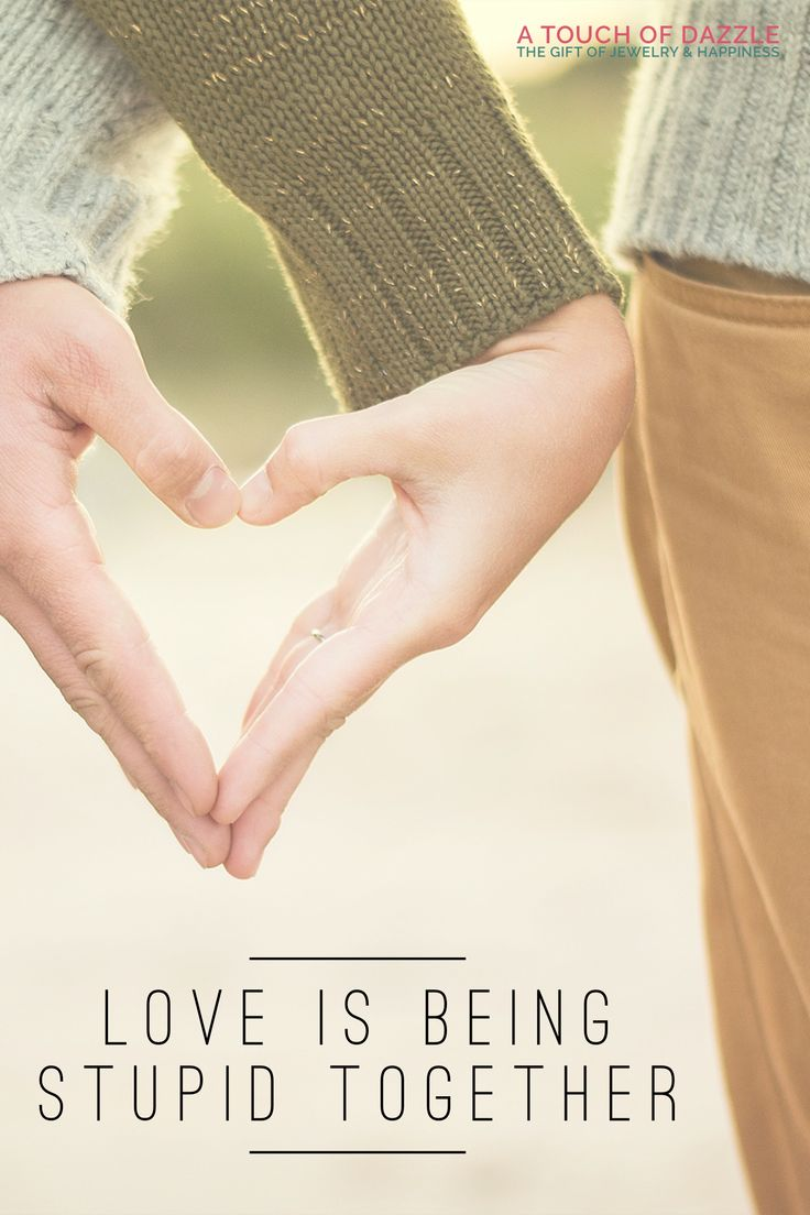 Love is being supid together... #funny #fun #motivation #inspiration #love #friendship quotes
