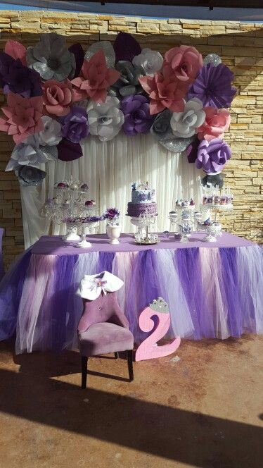 Sofia the first party decoration