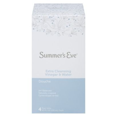 Summer's Eve Extra-Clean Douche - 4 Count (4.5 oz each)