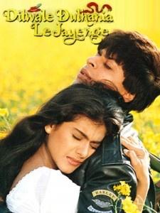 Classic Movie. Dilwale Dulhania Le Jayenge or DDLJ