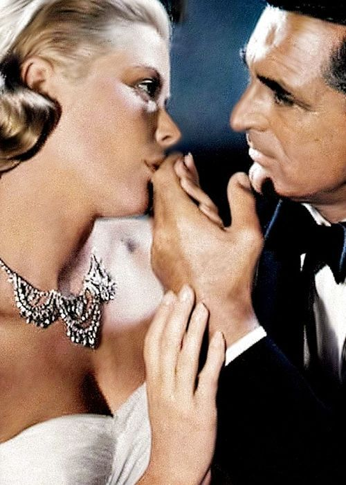 Grace Kelly and Cary Grant in 'To Catch a Thief',...