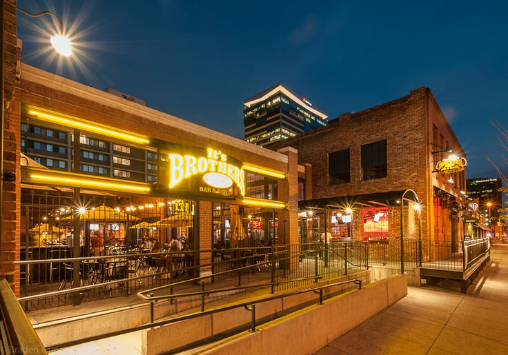 Market Street Downtown Denver Colorado. Rodwin Architecture I Brothers Bar & Grill