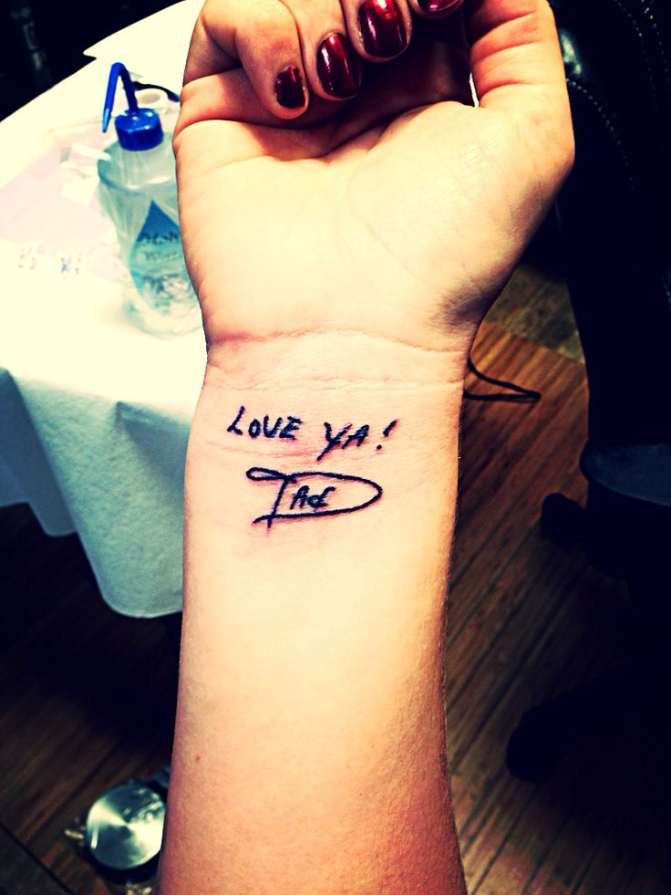 I love you dad tattoo ask for joker at for Dad i love you tattoo