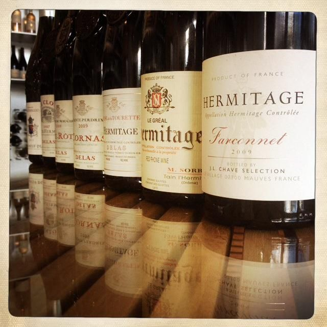 "Dec 14/13 at 9pm, join us for The Very Best of Côtes du Rhône ""Hermitage"" including:  a white Chateauneuf du Pape, then several Croze Hermitage, Cote Rotie and ending with a couple of magical Hermitage.  RSVP required, Limited Seating Available. Please call 305-455-9791. $75 per person.  A credit card number is required to hold your reservation and a 48 hour cancellation policy applies."