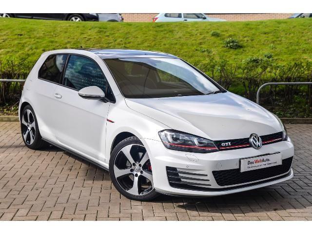 Volkswagen GOLF GTI mk7 Oryx White