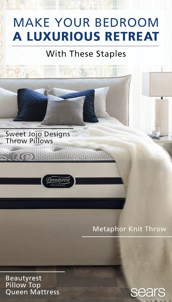 wake up refreshed and rejuvenated with these bedroom must haves find stylish pillows - Sears Bedroom Decor