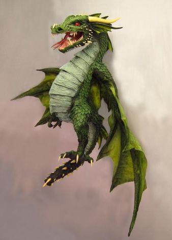 Dragon Seeking Good Home for A Good Cause
