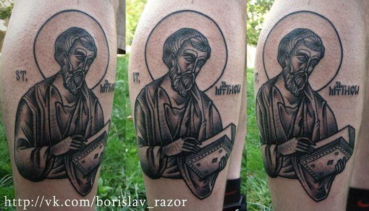 Redberry Tattoo Studio Wrocław #borislav_razor #oldicontattoo #traditionaltattoo #kharkov #neotradtattoo #ukraine #damngoodtattoo #tattoo #inked #ink #studio #wroclaw #warszawa #tatuaz #gdansk #redberry #katowice #berlin #poland #krakow #kraków #sosnowiec #boryslav #dementiev #razor #saint #swiety #ikona #portrait #vintage