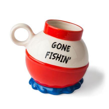 Tasse gone fishin