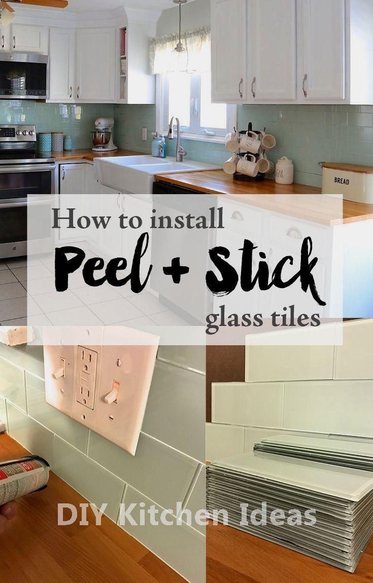 How To Install A Kitchen Tile Backsplash Diy Tile Backsplash