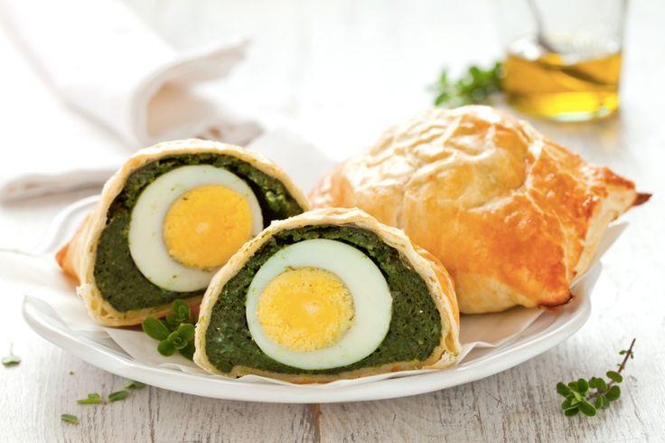 Un antipasto per la tavola di Pasqua, per il pic nic di Pasquestta ma anche per molte alter occasioni. Una versione monoporzione per la celebre torta ligure