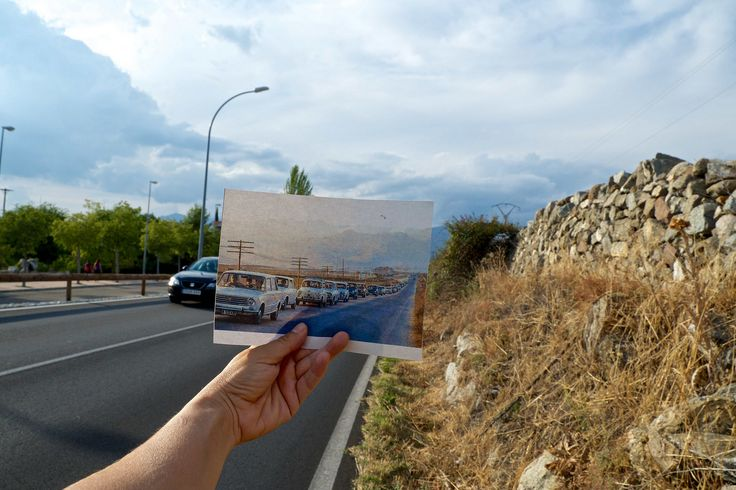 Memorias del paisaje III. Carretera a Madrid.Belén Carrillo Calvo