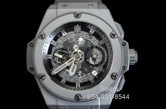 Hublot King Power Unico All Black 48mm 701.CI.0110.RX   Authentic Luxury Watches on Collection of Time
