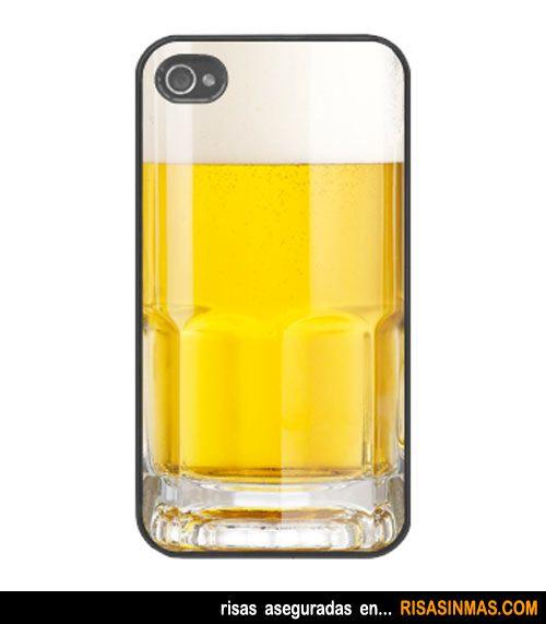 Fundas originales para iPhone: Jarra de cerveza.