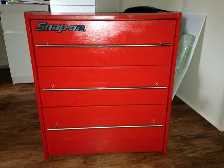 Frazer's toolbox chest of drawers