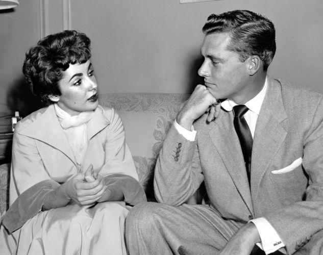Elizabeth Taylor and Conrad Hilton Jr., 1951 -