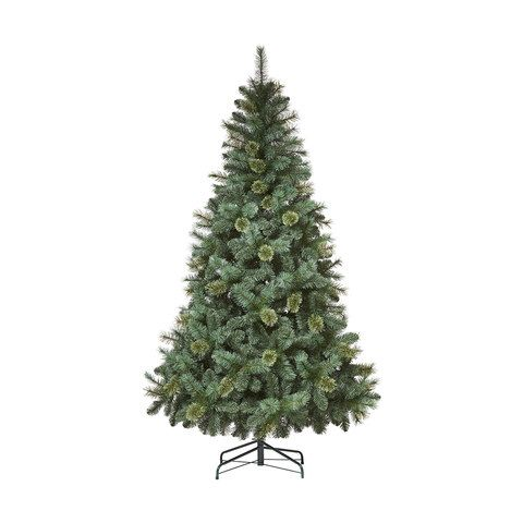 2.13m (7ft) Mixed Cashmere Christmas Tree | Kmart