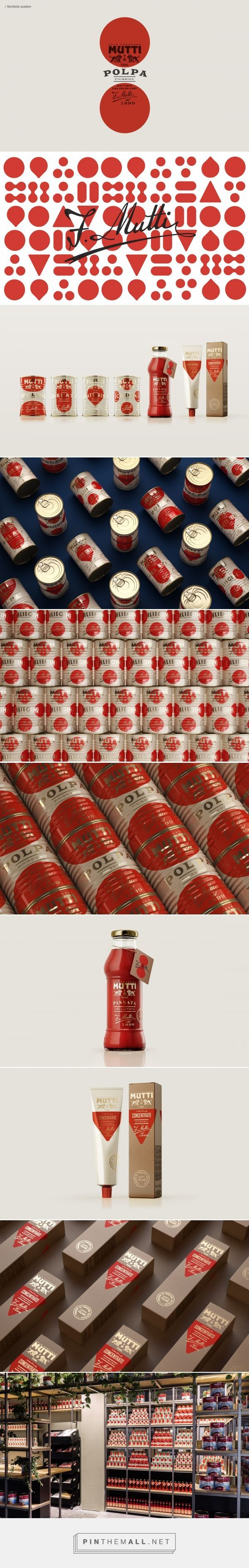 Mutti Limited Edition Tomato Product Packaging by Auge Design | Fivestar Branding Agency – Design and Branding Agency & Curated Inspiration Gallery #packaging #packagingdesign #packaginginspiration #design #designinspiration #foodpackaging