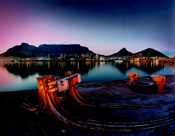 Cape Town Harbour from Duncan Dock by Obie Oberholzer (obieoberholzer.net)