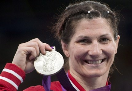 Day 13 (August 9th, 2012) - Silver - Women's Freestyle Wrestling 55 KG - Tonya Verbeek - becomes Canada's most decorated wrestler with three Olympic medals (2 Silver, 1 Bronze)