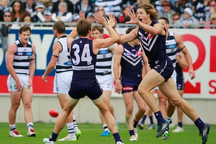 44 PT WIN AGINST GEELONG AT THE CATTERY - GOTTA LOVE THE DOCKERS - GO FREO !!!