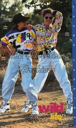 1980 fashion trends | Catalogue/ Brochure Plate Joe Bloggs Girls Fashion 1980s