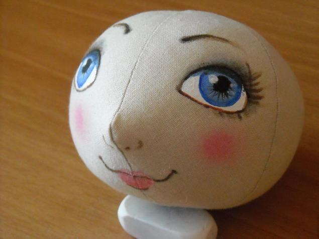 How to sew doll Pumpkinhead - Aprelku-droplets or girl Spring. - Fair Masters - handmade, handmade