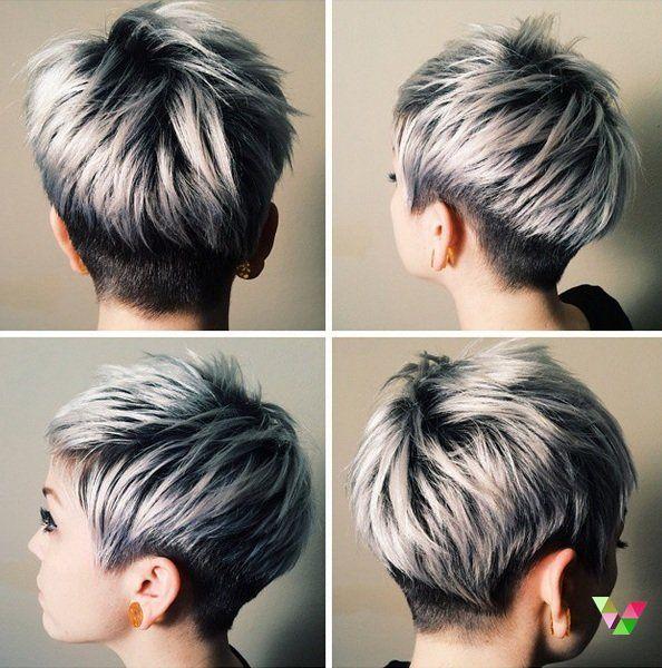 De kleuren voor 2015: Platina, zilver, licht blond… 13 trendy korte kapsels