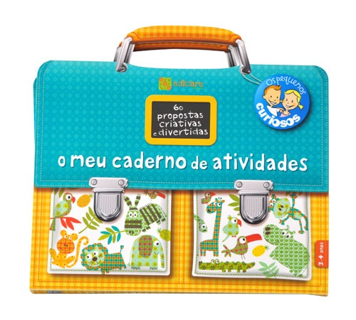 O meu caderno de atividades 3-4 Anos  - Atividades de educação pré-escolar em 60 jogos didáticos e criativos. 10.50€