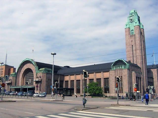 Estação Central de Helsinque – Finlândia As estações de trem mais impressionantes do mundo
