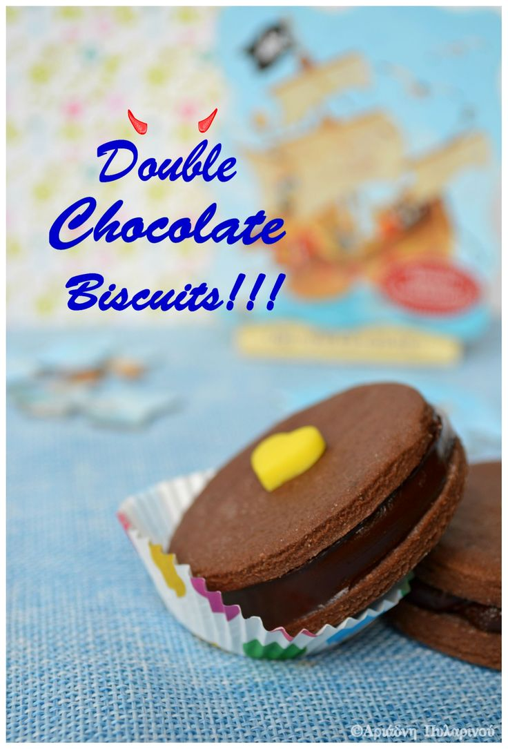Double chocolate biscuits!!