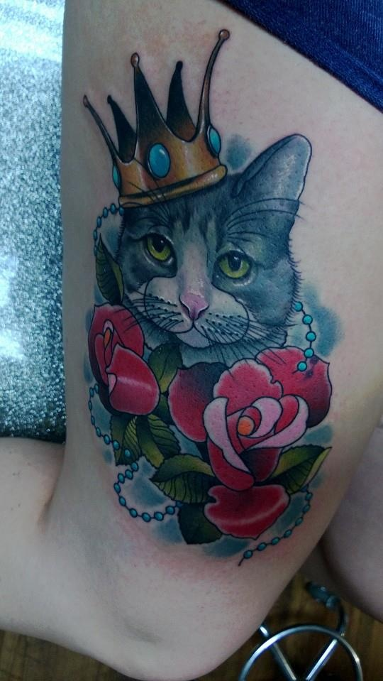 17 best images about tattoo on pinterest cats the for Bad cat tattoo