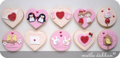 Valentine's Day Cookie Set-2