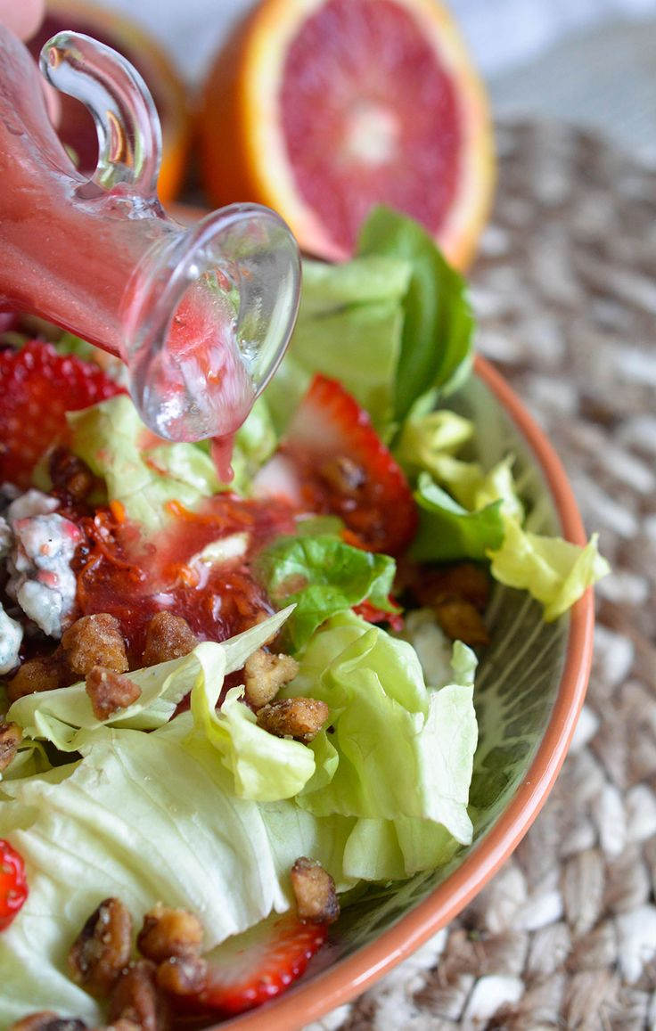 Blood Orange Salad Dressing | Recipe | Fresh, Posts and Healthy meals