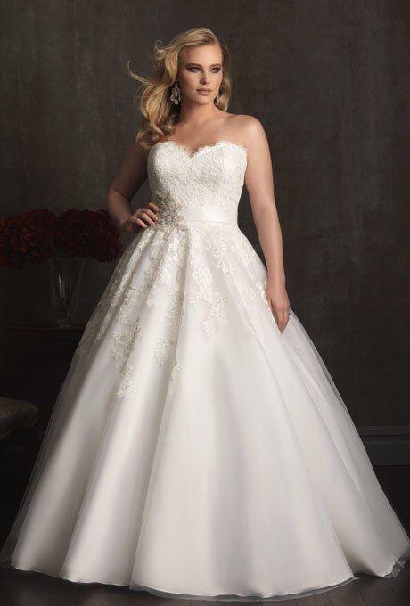 Plus-Size Wedding Dresses | Brides