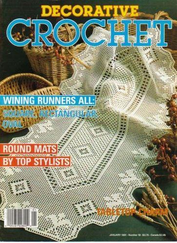 Ravelry: Decorative Crochet Magazine, January 1991, #19