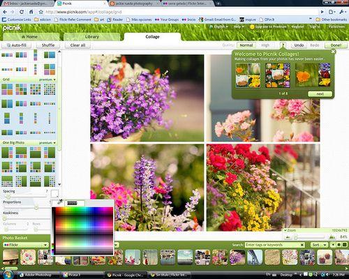 collage . Como hacer mosaicos con fotos