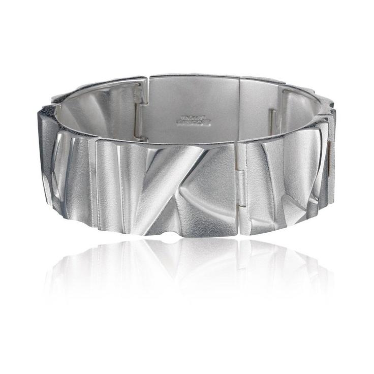 CATARACT  Design Björn Weckström / Silver Bracelet / Lapponia Jewelry / Handmade in Helsinki