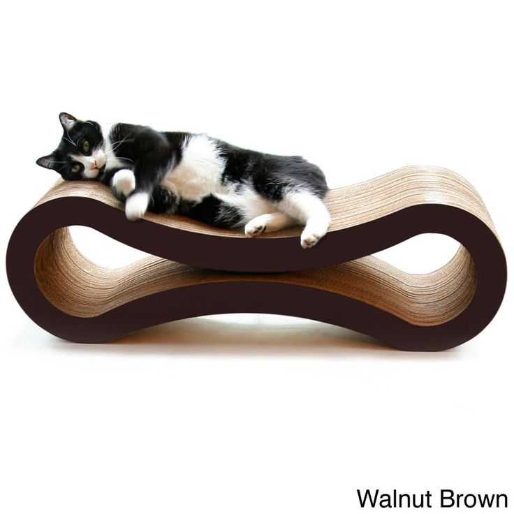 I like this as an interesting scratcher / bed. PetFusion Cat Scratcher Deluxe Lounge | Overstock.com