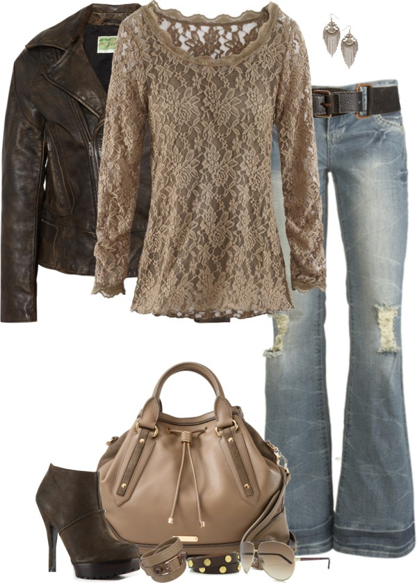 Leather & Lace, Best Fall fashion Trend