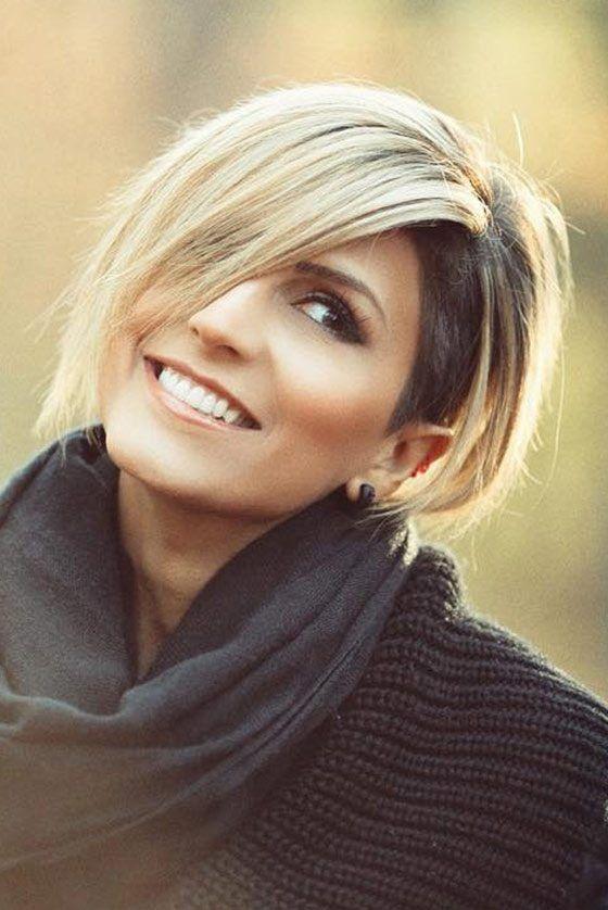 15 Auffällige asymmetrische Bob-Frisuren Für Frauen