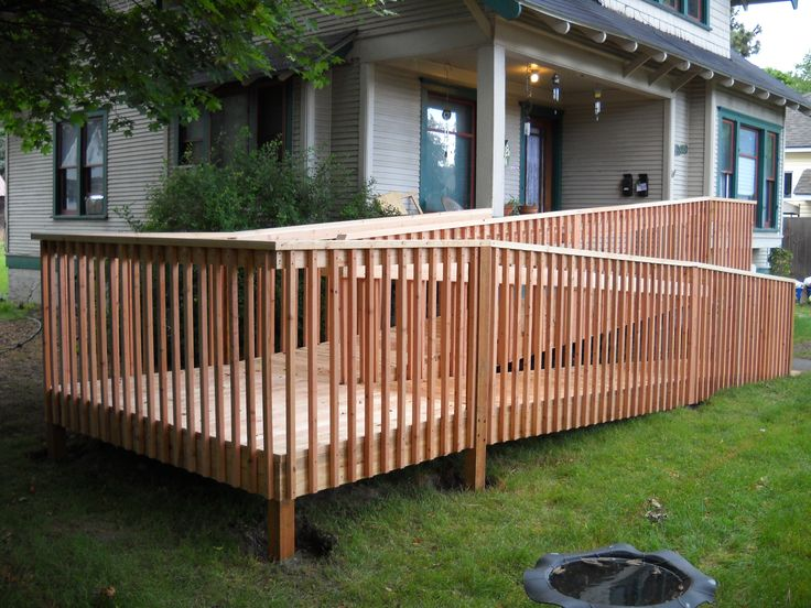 1000 images about handicap ramp on pinterest for Handicap accessible home builders