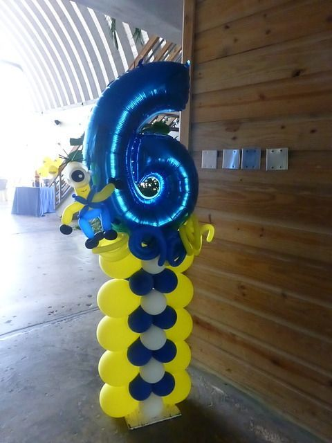 Minions Birthday Party Ideas | Photo 1 of 39 | Catch My Party