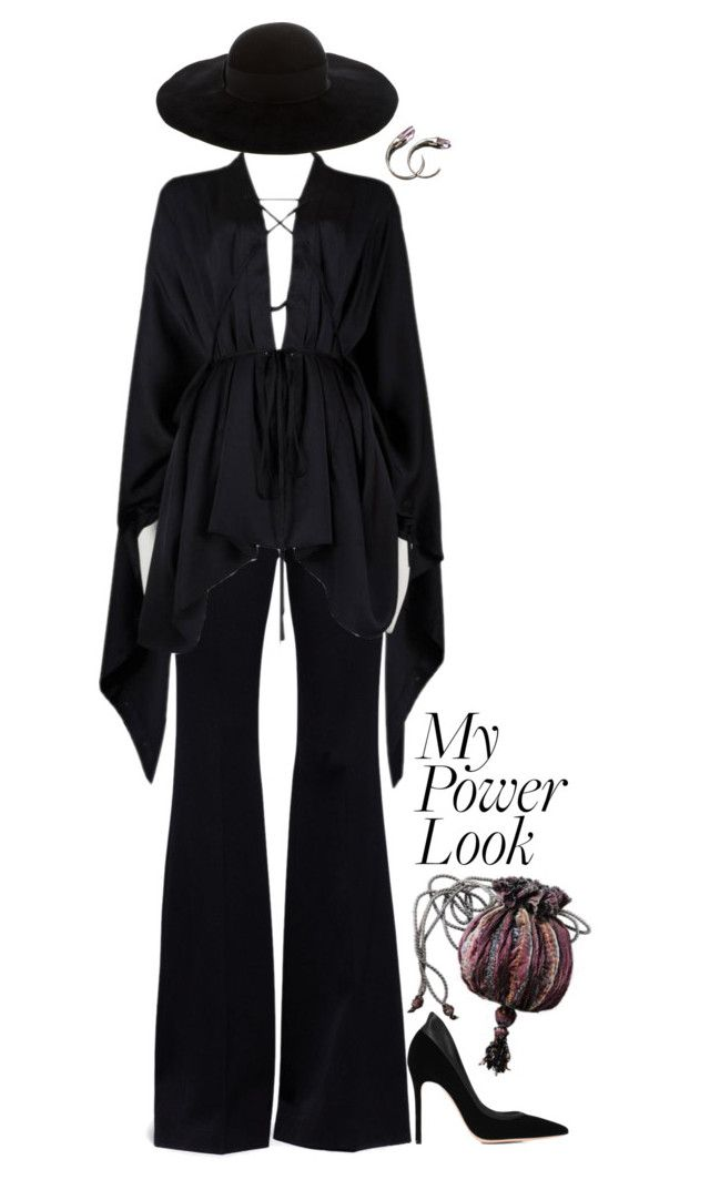 """""""My powerlook"""" by weird-betty on Polyvore featuring Alexander McQueen, Tom Ford, Eugenia Kim, Gianvito Rossi, Unearthen and MyPowerLook"""