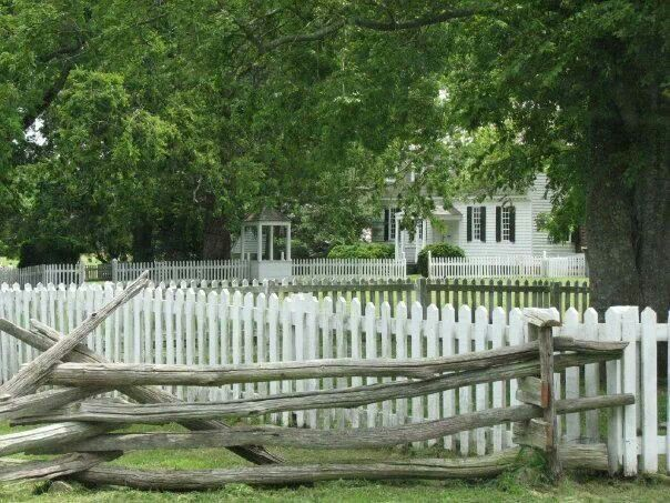 The Moore House, Yorktown, Virginia-This house built in 1730 has survived wars & desertion. Lawrence Smith II built this house leaving it to his son. Due to financial difficulty his son sold the house to Augustine Moore. Him, his wife, & only son lived there during the Revolutionary War. A stray bullet fatally shot his 20 yr old son & he was buried there on the land. Also buried there is John Turner who was also mortally wounded due to the war. It is believed these two men & John Turners…