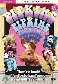 pipkins - Google Search crazy kids show. very 70's feel and look. Hartley Hare, Topov the monkey, Pig, tortoise and Octavia the ostrich.