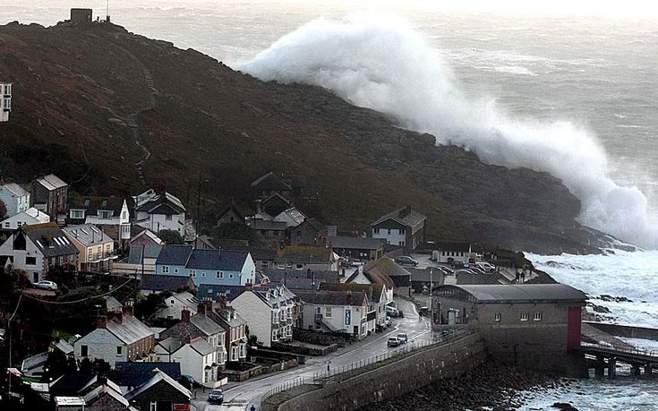 UK battered by storms
