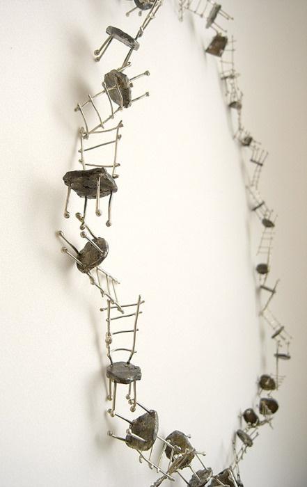 LIISA HASHIMOTO - chairs necklace