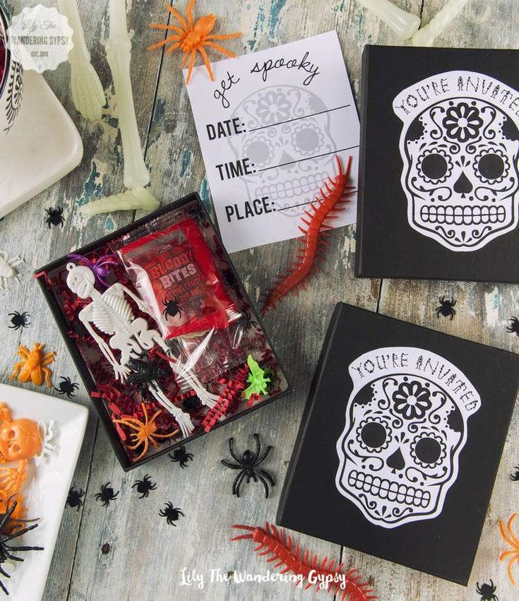 chic halloween halloween party ideas - Creative Halloween Party Invitations
